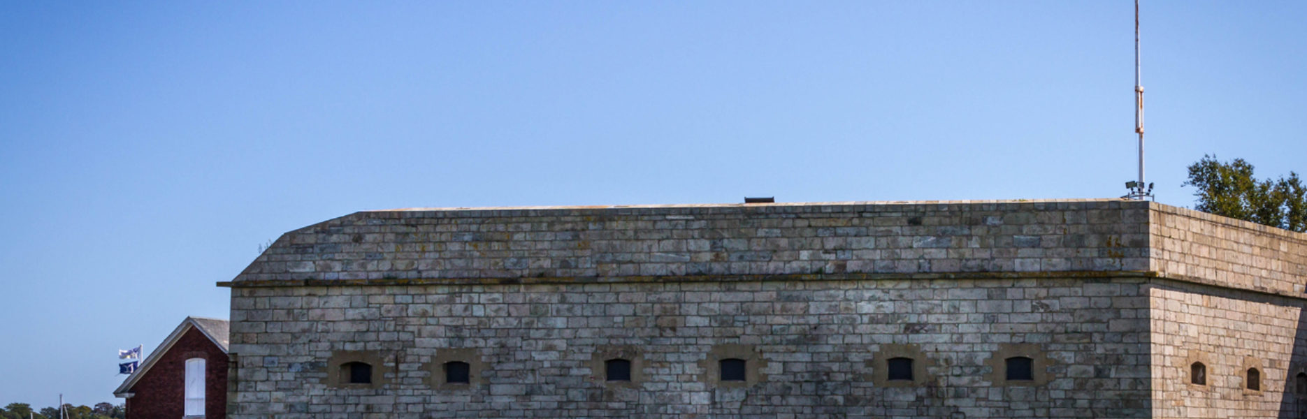Newport, RI Harbor Sights: Spotlight on Fort Adams