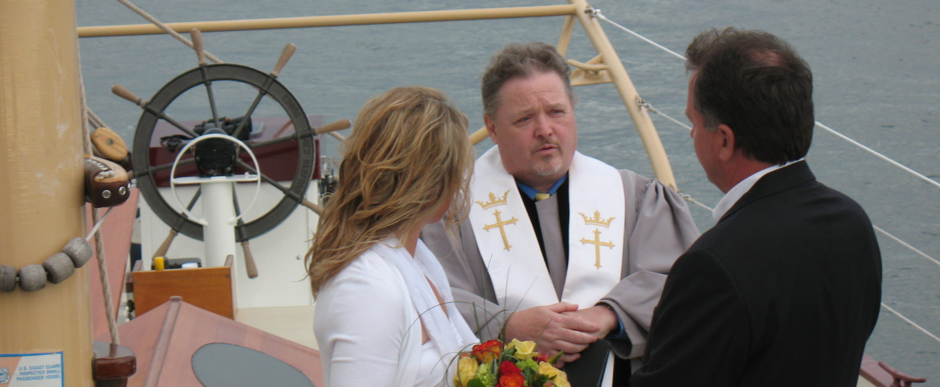 Pre & Post Wedding Sails, Wedding Ceremonies